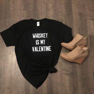 Graphic Whiskey Valentine Tee